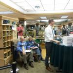 Darell Zimbelman and Sue Yadon witness Book Signing