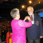 Bob Kitchell installed as District Governor