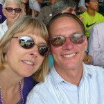Sue and Tobey at the Rockies game 7-23-2014