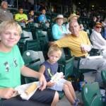 Wayne and grandsons