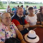 Betty and Gil Moon, Margaret and Todd Spiller
