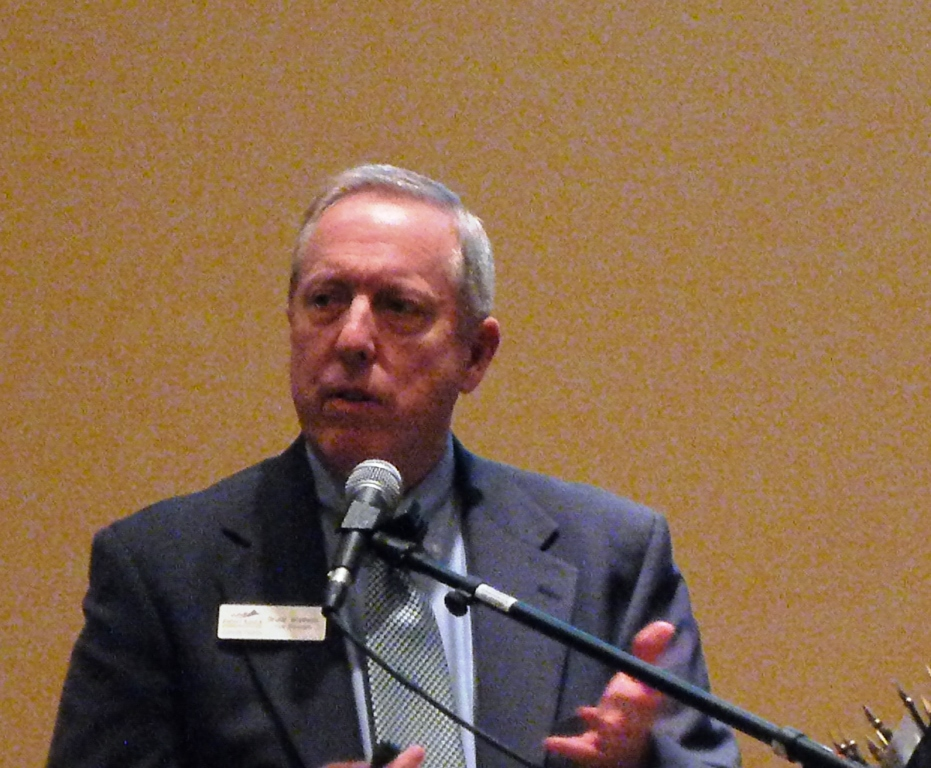 Bruce Walther, Vice President, of Front Range Community College            spoke about some of his experiences was a recent speaker at our club
