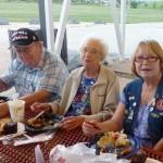 Harold Einarsen, Lois Atwood, and Rusty Holsten