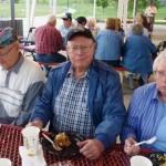 Lee Brown, Warren and Thelma Mauk