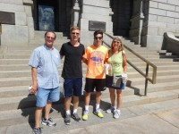 Denver Capitol - Tobey, Philipp, Diego, and Sue 7-27-2015