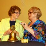 Lion Judy Coker-Blaa received the Silver Centennial Award