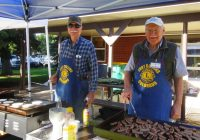 Mike and Bob McLean – Grill masters!