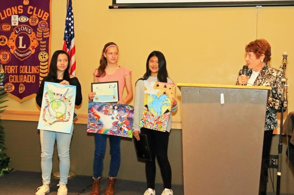 Peace Poster winners