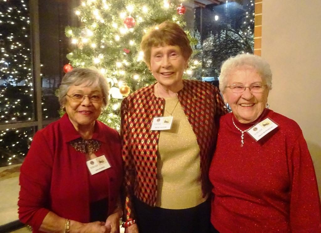 Aida Raider, Irene Toliver, Fran Howerton