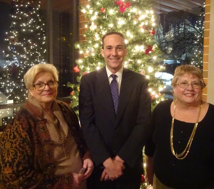 Judy Coker-Blaa, Brian White, Nancy Walther