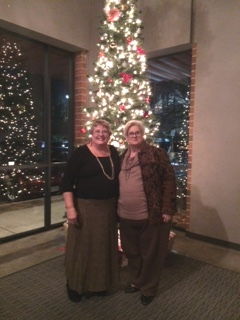 Nancy Walther and Judy Coker-Blaa