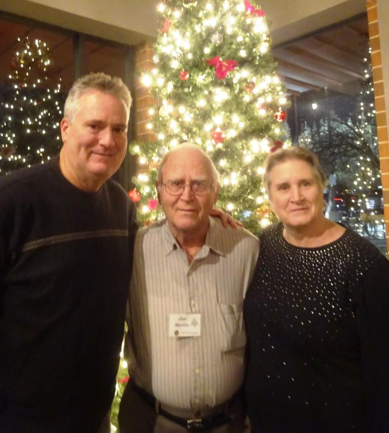 Randy Martin, Jim Martin, and Mary Field