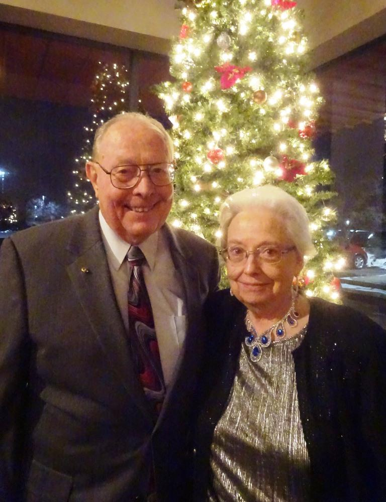 Warren and Thelma Mauk