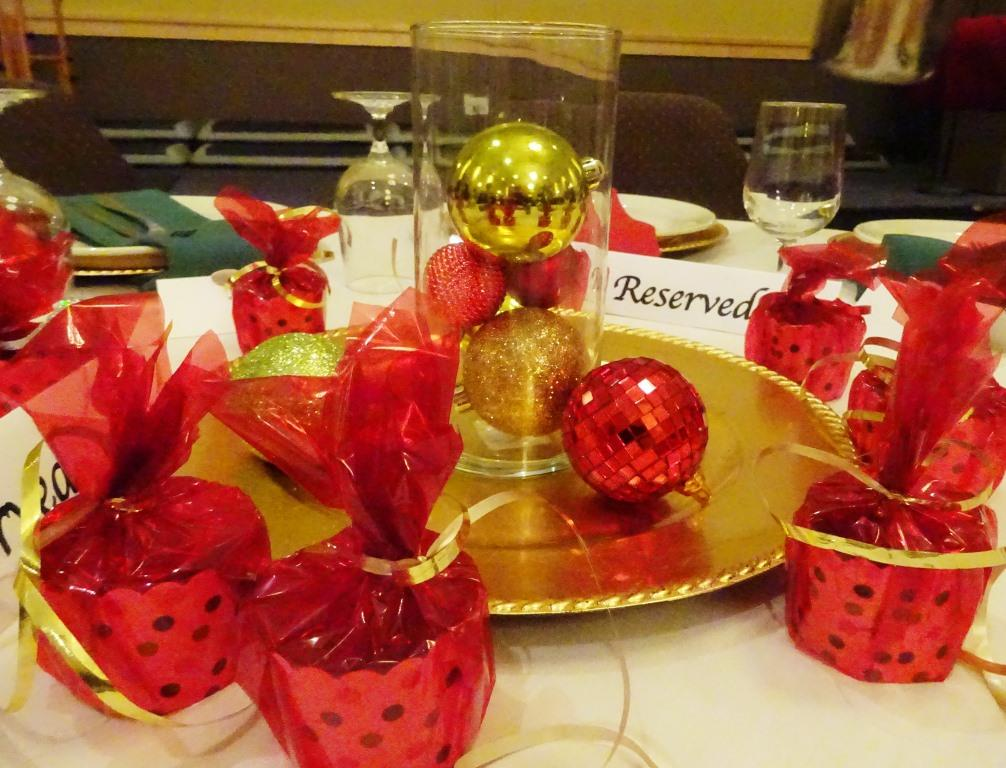 Festive table settings