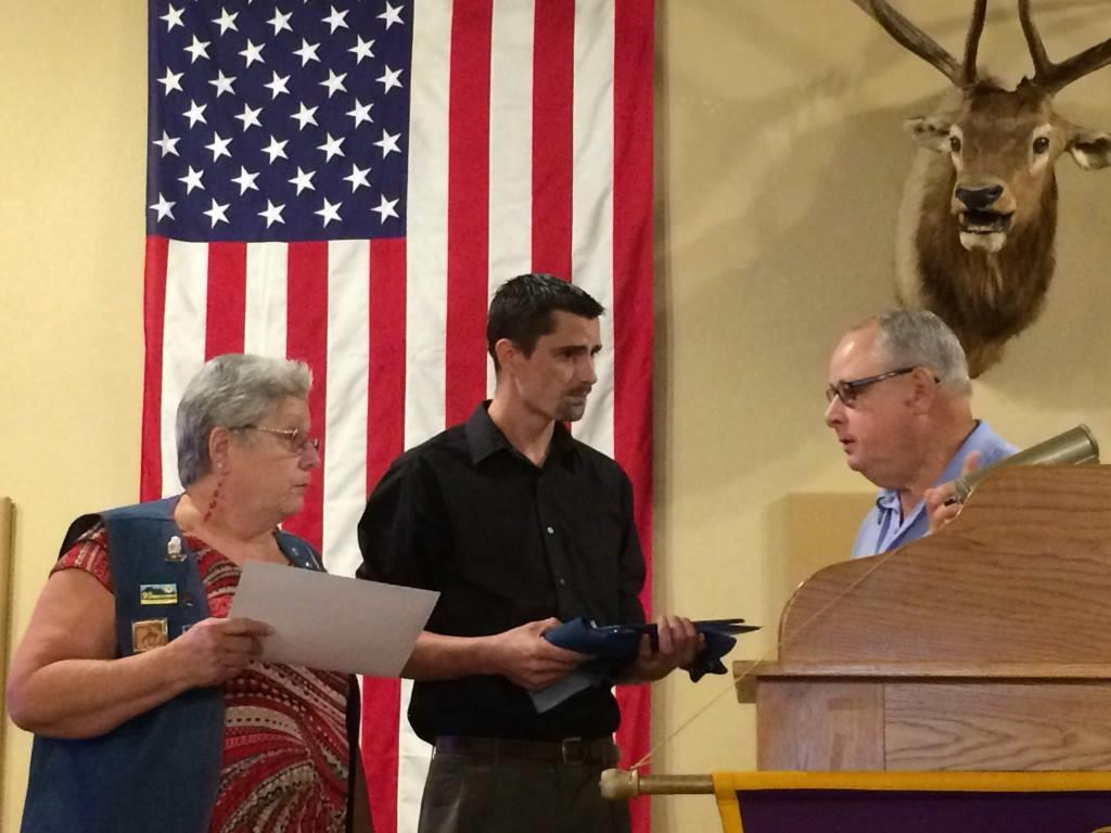 New member, Mike Walther, was inducted into the club in early July. His sponsor is Nancy Walther.