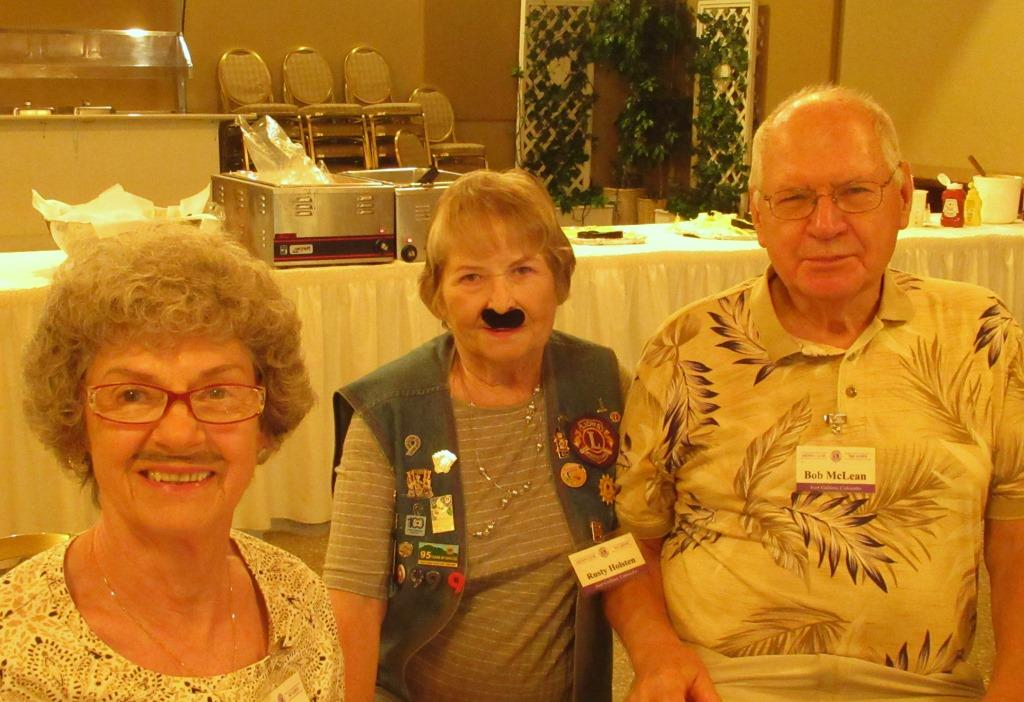 Darlene Sanderson, Rusty Holsten and Bob McLean