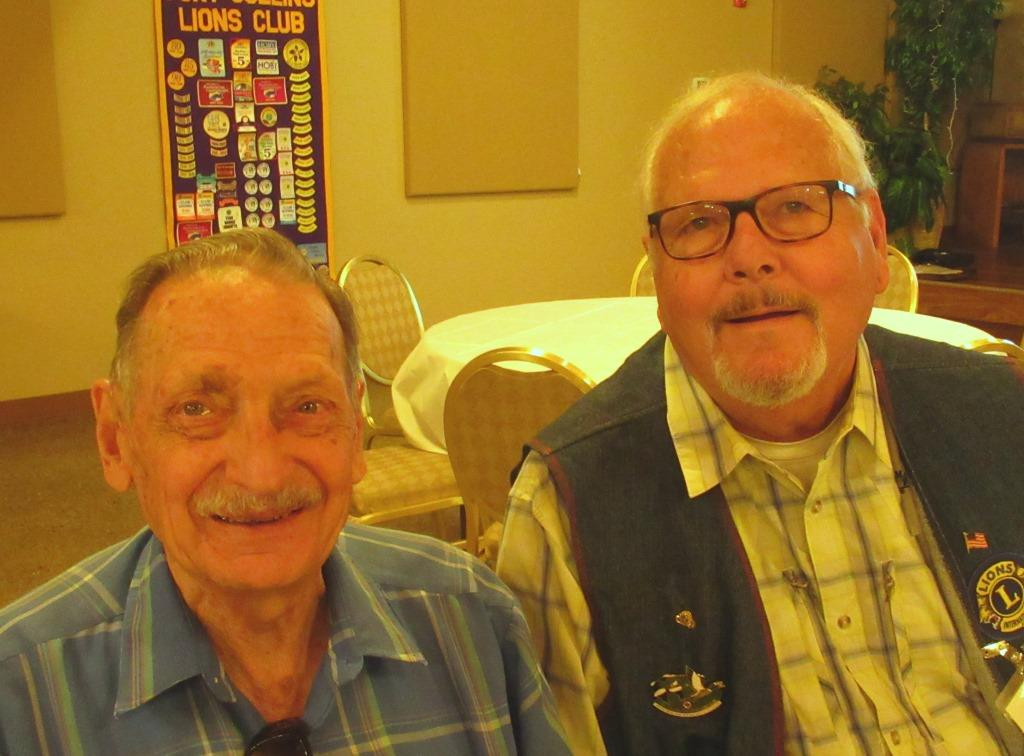 Vic Meline and John Owen have REAL mustaches!