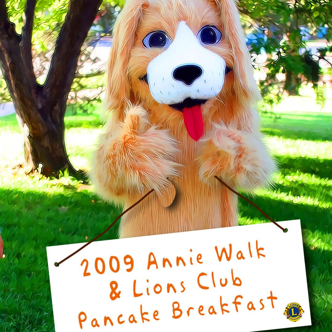 Annie Walk Pancake Breakfast