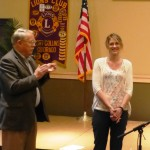 Melody Glinsman new member induction