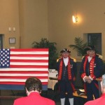 Flag Day program at the meeting included the history of the flag.