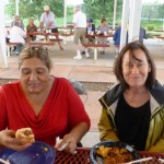 Edna Chavez and Pam Devore