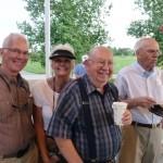 Todd and Margaret Spiller, Harold Hartman and John Staples