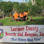 Larimer County Search and Rescue pancake breakfast 7-18-2015