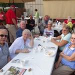 Doug & Cathy Hutchinson, Joe and Wilma Jo Hamilton, Nancy Walther, and Rusty Holsten