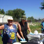 Serving line - Nancy Walther, Denise Clynes, Lindsay Anzman