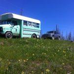 bus to tree planting