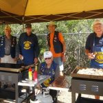 Cooking Crew – Lindsay, Ray Tjalkens, Mike, Wayne Crownhart, Dale Edwards, and Bob McLean