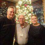 Randy Martin, Jim Martin, and Mary Field