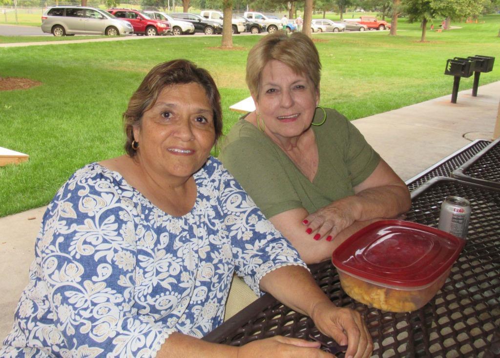 Edna Chavez and Judy Coker-Blaa