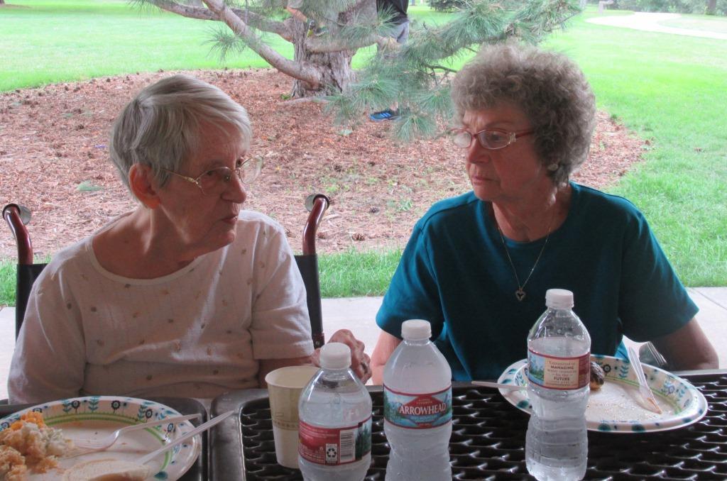 Lola Funke and Darlene Sanderson
